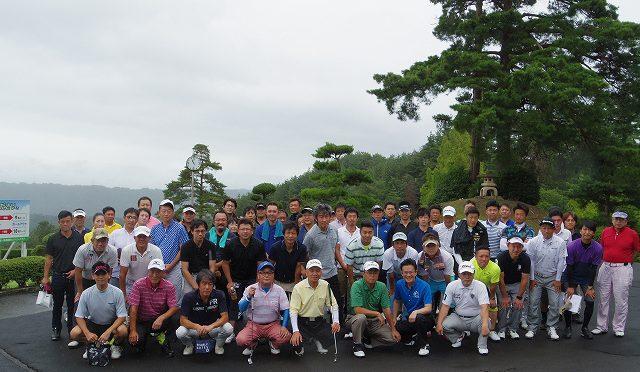 富山県商工会議所青年部連合会創立40周年記念事業ゴルフコンペ開催