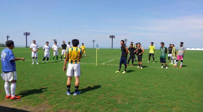 サッカー交流会